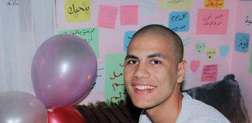 محمد قمصان مدعي الإصابة بالسرطان
