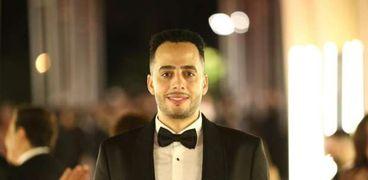 عصام اسلقا خلال حفل افتتاح مهرجان الجونة