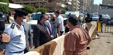 مدير أمن ادلقهلية يتفقد لجان الإنتخابات