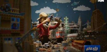 صورة كرتونية من الفيديو