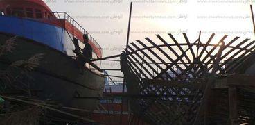 صناعة السفن  بكفر الشيخ