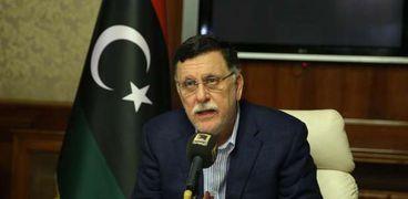 فايز السراج رئيس حكومة طرابلس
