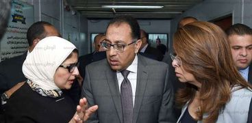الدكتور مصطفى مدبولي ووزيرة الصحة