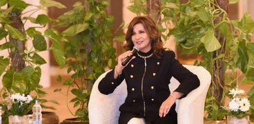 """وزيرة الهجرة خلال فعاليات مؤتمر """"مصر تستطيع بالصناعة"""""""