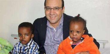 الطبيب المصري المتوفي أشرف عمارة