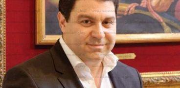 المهندس أحمد حلمى، رئيس غرفة صناعة الأخشاب باتحاد الصناعات