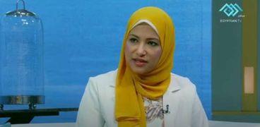 الدكتورة نهى عاصم مستشار وزير الصحة للأبحاث