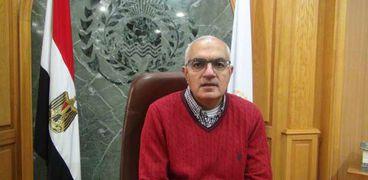 الدكتور أشرف عبد الياسط ، رئيس جامعة المنصورة