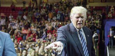 المرشح الجمهوري دونالد ترامب