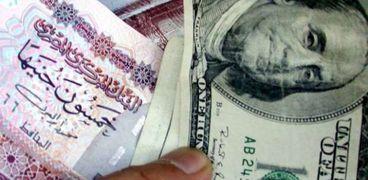 سعر الدولار مقابل الجنيه المصرى