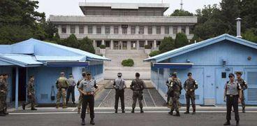 الحدود بين كوريا الشمالية والجنوبية - أرشيفية