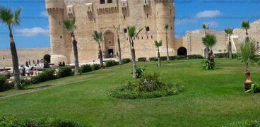 قلعة قايتباي الاثرية