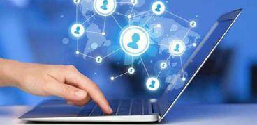 نقل البيانات عبر الانترنت