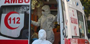 نقل وفيات كورونا في تركيا
