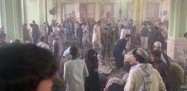 انفجار المسجد في قندهار