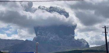 بركان اليابان