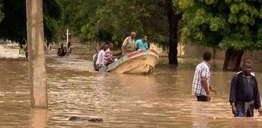 فيضانات جنوب السودان