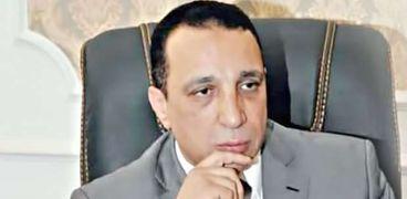 محمد مهران .. رئيس شعبة الجلود والمدابغ بالغرفة التجارية