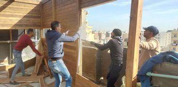 وقف أعمال في الاسكندرية