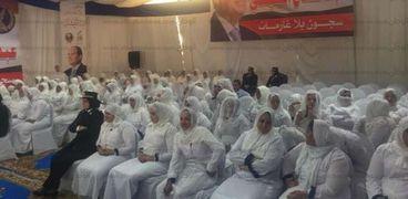 صور من احتفال السجون أثناء الافراج عن عدد من الغارمين