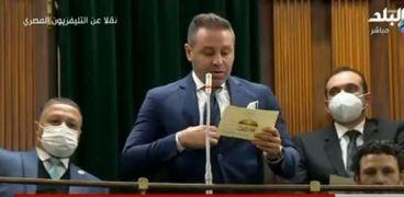 الكابتن حازم إمام .. عضو مجلس النواب