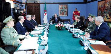 مجلس الأمن الجزائري برئاسة الرئيس عبد المجيد تبون