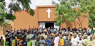 أرشيفية - كنيسة في بوركينا فاسو