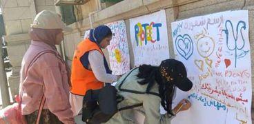 مقر صندوق مكافحة وعلاج الإدمان يستقبل طلاب جامعة القاهرة للتوعية بأضرار المخدرات