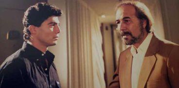 خالد النبوي مع محمود ياسين