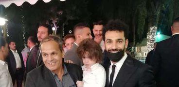 محمد صلاح من فرح شقيقه