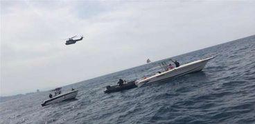 مكان سقوط الطائرة اللبنانية في البحر