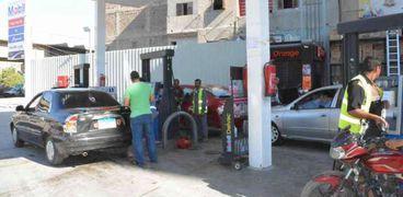 محطات الوقود في المنيا