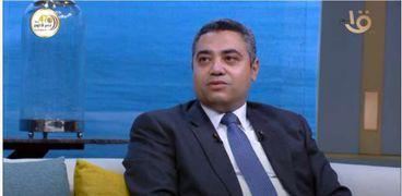 الدكتور عمرو فوزي عضو اللجنة التنظيمية لأسبوع القاهرة للمياه