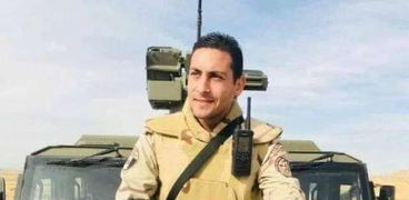 الشهيد النقيب أحمد خالد الحجار