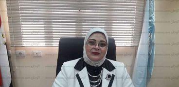الدكتورة بثينة كشك وكيل وزارة التربية والتعليم بكفر الشيخ