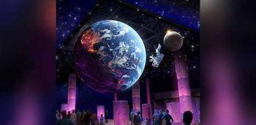 قطعة نادرة من القمر في معرض إكسبو 2020 دبي