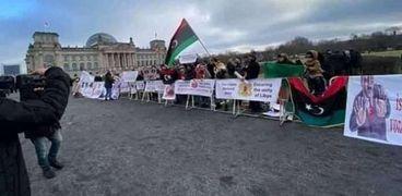 """وقفة أبناء الجالية الليبية في """"برلين"""""""