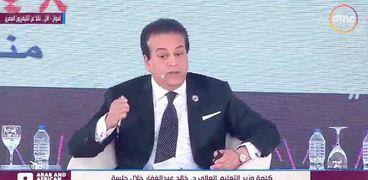 """الدكتور خالد عبدالغفار وزير التعليم العالي """"ارشيف"""""""