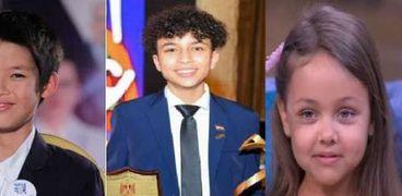 أطفال مصريون تفوقوا في الخارج