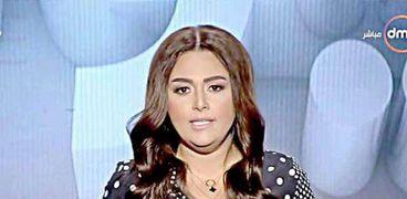 الإعلامية سارة حازم