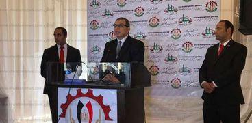 """وزير القوى العاملة خلال افتتاح الدورة التدريبية لمبادرة """"مصر أمانة بين ايديك"""" بالمحلة"""