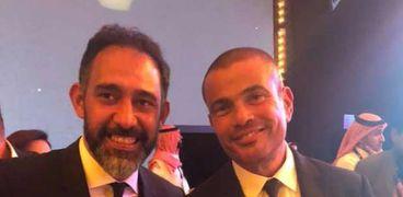 عمرو دياب وعمرو مصطفى