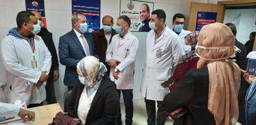 مركز لقاح كورونا في مستشفى نبروه