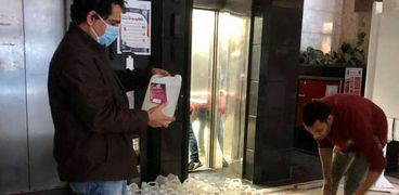 أيمن عبد المجيد رئيس لجنة الرعاية الصحية بنقابة الصحفيين