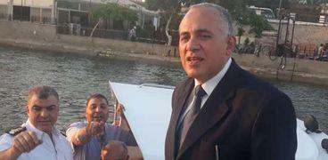 الدكتور محمد عبد العاطى وزير الموارد المائية والري