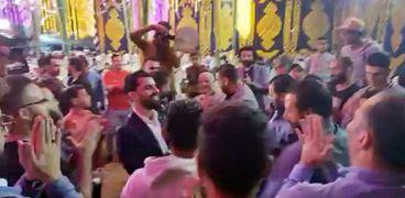 جانب من حنة شقيق محمد صلاح