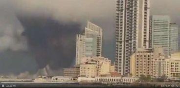 انفجار ميناء بيروت