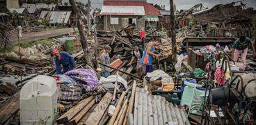 زلزال الفلبين