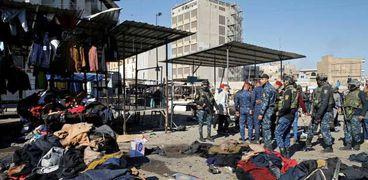 انفجار سابق فى بغداد