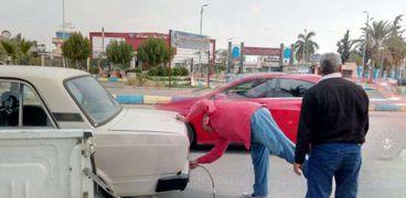 حملة فحص عوادم السيارات